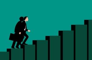 キャリア 成功 パス 階段 実業家 企業 交流 従業員 徒歩 方法 機会 背景
