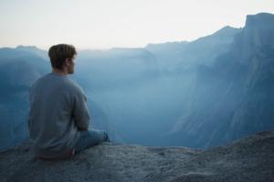 思考,頭,アタマ,瞑想,マインドフルネス,未来,フューチャー