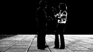 会話 話 人 2 数字 シルエット カップル ジェスチャー 身振り 手 ボディ コミュニケーション