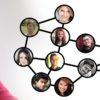 女性 顔 フォトモンタージュ フォト アルバム 世界 人口 メディア システム ウェブ 人間関係